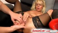 Mature old men seniors Young old twat fingering with horny milf koko