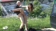 Evangaline lilly nude Teen girl picked up and fucked outdoor and pu