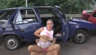 Busty cum whore Busty teen banged in public