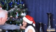 Free xxx oldman video clips Hot girl for fuck oldmans xmas gift