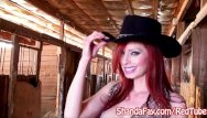 Barn sexs Kinky cowgirl shanda fay fucks in the barn