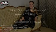 Lack of condom - Lack fetisch leggins high heels domina gibt w
