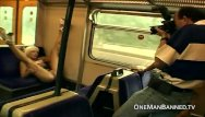 Banned sex pics Public daring sex and flashing on a train