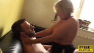 Enourmous british tits - British mature plowed hard by maledoms cock