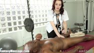 Advantages to primary vaginal deiveries - Masseuse takes advantage of clients big cock