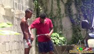Big black gay cocksuckers - African amateur cocksucking outdoors