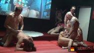 Free orgy cum shot video Reife frauem im pornokino