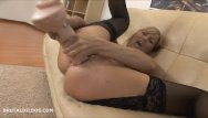 Brutal dildo video gallery - Amazing milf gaping her ass with a huge dildo