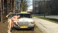 Vintage diver watches Taxi diver fucks teen anal in public