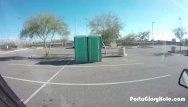Dick purtan salvation army truck - Porta gloryhole girl sucks dick in public
