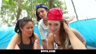 Homeless girl fucked Bffs - camping sluts fuck homeless man