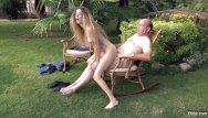 Young girl facials - Big belly rich old man fucking his nymph girl