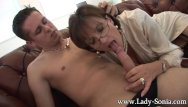 Lady sonis blowjob movies - Lady sonia gives young worker blowjob facial
