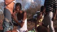 Iphone safari sex videos African sex safari threesome orgy
