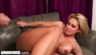Burn it pleasure Huge tits cougar takes it up the butt