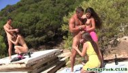 Beach photos sex - Sophomore babes outdoors beach sex orgy