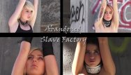 Dee bondage model - Two slaves in brutal pain and kinky bondage