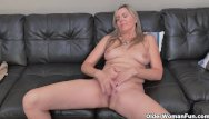 Vintage black velvet - Blonde milf velvet skye drips her pussy juice on the couch