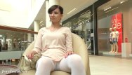 Pantyhose in public tubes Jeny smith - white pantyhose spycam
