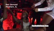 The red bottom club - Misty stone at red diamondss strip club