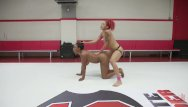 Bikini wrestling youtube - Ebony babes battle in 100 real competitive erotic wrestling match