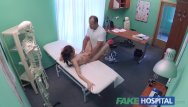 Doctor of sexual therapy - Fakehospital doctor performs sexual acrobatics with russian babe