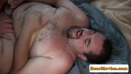 Mature gay black on white Chubby mature bear cocksucking before anal