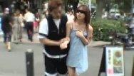 Asian tube pranks - Subtitled extreme japanese public exposure blindfold prank