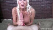 Old blonde handjob Old lady pv jerking