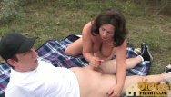 Oldie sex movies Outdoor oldie porn