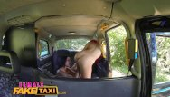 Upskirt pics of female tv presenters - Femalefaketaxi lesbian cab driver finger fucks tv babe in forest