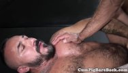 Gay pierced ear Mature dilf bear barebacked by pierced top