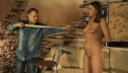 Breast cnacer band Lovely girl gets rubber band punishment and hot wax torture.