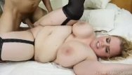 Free busty plumpers Busty blonde bbw nikky wilder takes it deep in her ass
