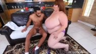 Plumper redhead sexy - Sexy ssbbw lexxi luxe feeds stallion breakfast and boobs