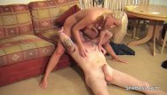 Femdom nude smothering - Smothered by ass pussy and tits