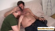 Gay chub streaming Redbear assfingered while jerking by chub guy