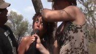 African teen gangbang Hot african safari sex orgy