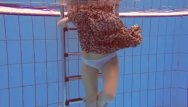Photos underwater redhead - Redhead katka playing underwater