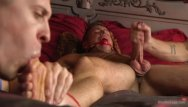 What is gay edging Alex mecum gets tied up and edged