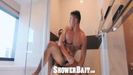 Cum covered gays - Showerbait - seth santoro covered in str8 cum