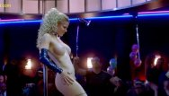 Eddie bauer sucks Kristin bauer striptease in dancing at the blue iguana movie