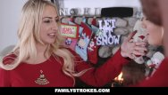 Cum on pics of pornstars - Familystrokes - step-sis fucked during christmas pic