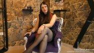 Pantyhose and high heel pics Joi german milf pantyhose high heels femdom domina