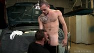 Big dick gay in the butt - Extra big dicks mechanic takes it up the butt