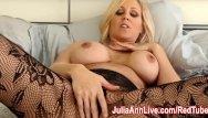 No cum when i masterbate help Milf julia ann teases you with lingerie helps you cum