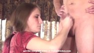 Voyeur webcam - Milf makes him messy