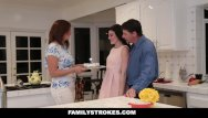 Old mom xxx Familystrokes - fucking my stepdad while mom cooks
