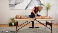 Reluctant massage orgasm Allgirlmassage reluctant blonde gets ass licked
