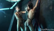 Gay blogging - Crucified gay youngster getting flogged and poked